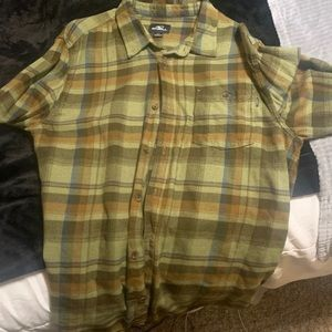 O'Neill button up plaid shirt